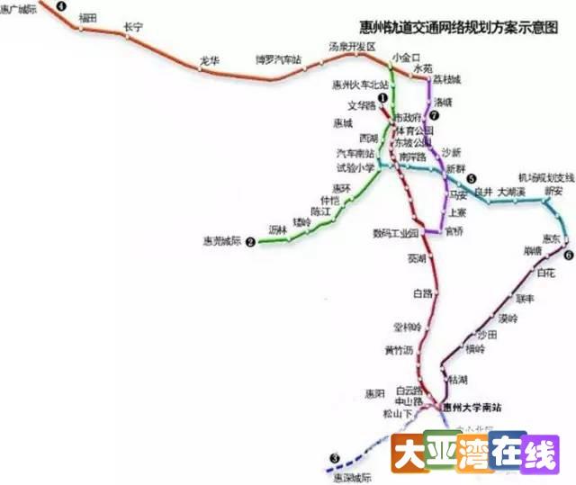惠州将新增7条轻轨惠州将新增7条轻轨