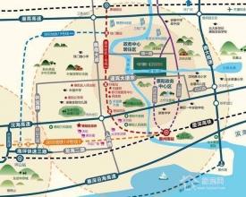 惠州惠阳中洲公园城楼盘园林风景社区住宅洋房
