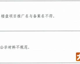 认购书不规范,夸大宣传!惠州19个楼盘违规被要求限期整改