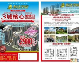 惠州沙田,恒达学府,10栋规模社区,2980每平米