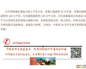 重磅!深圳东最近海景别墅、湾区稀有别墅合生滨海城!